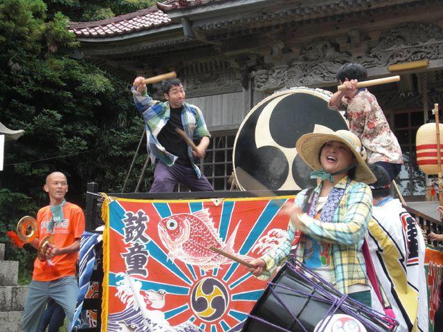 木崎神社に到着