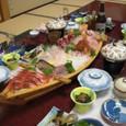 七浦荘の舟盛り