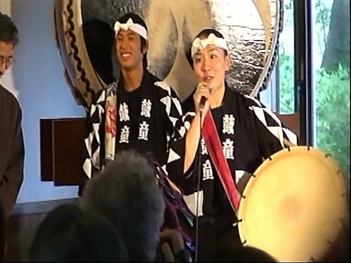 水原彰子さん(動画画像から)